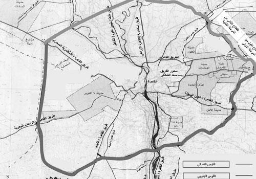 خريطة الطريق الدائري الاقليمي
